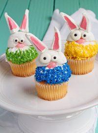 No Bake Bunny Cupcakes | The Bearfoot Baker