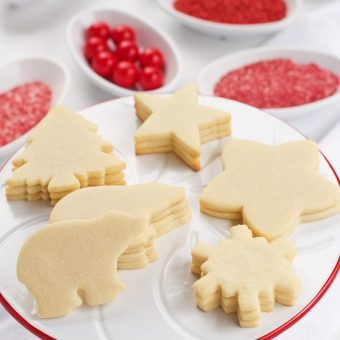 Simple Sugar Cookie Recipe | The Bearfoot Baker