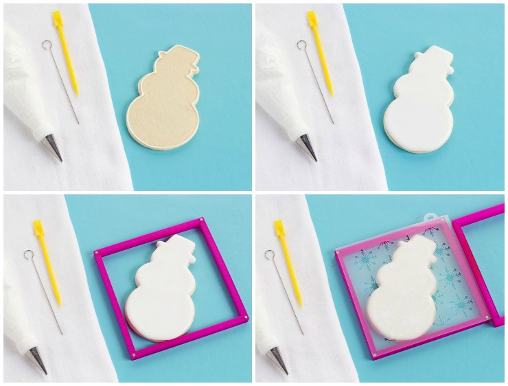 Stencil Cookies Video | The Bearfoot Baker