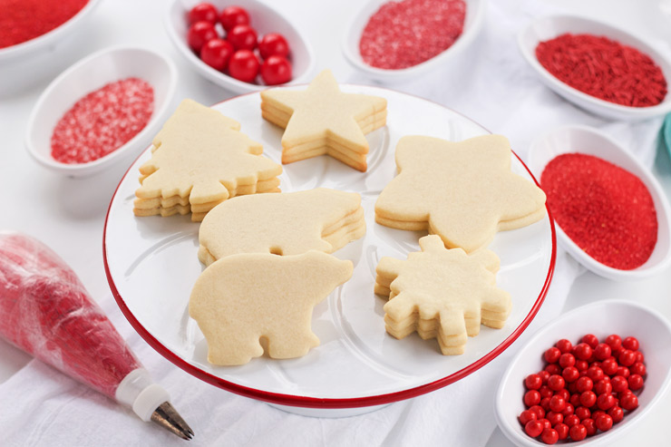 sugar cookie recipe the bearfoot baker - Cookie Decorating