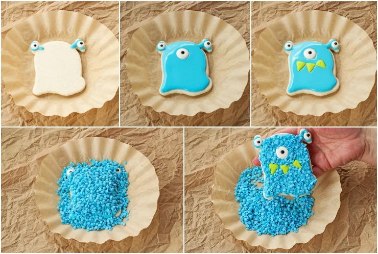 Monsteriffic Valentine Cookies | The Bearfoot Baker