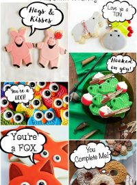 Turn Almost Any Cookie into Valentine's Cookies | The Bearfoot Baker