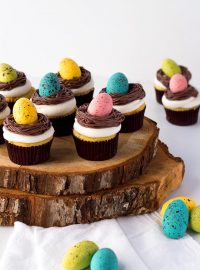 Bird Nest Cupcakes with Robin Eggs | The Bearfoot Baker