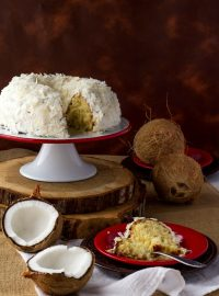 Coconut Cake Recipe | The Bearfoot Baker