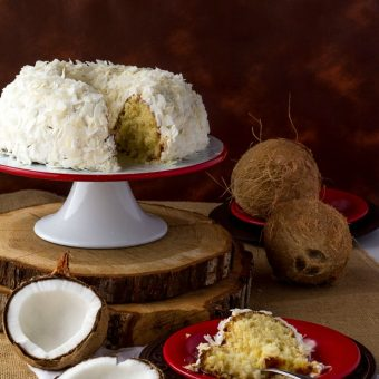 Coconut Cake Recipe | The Bearfoot Baker