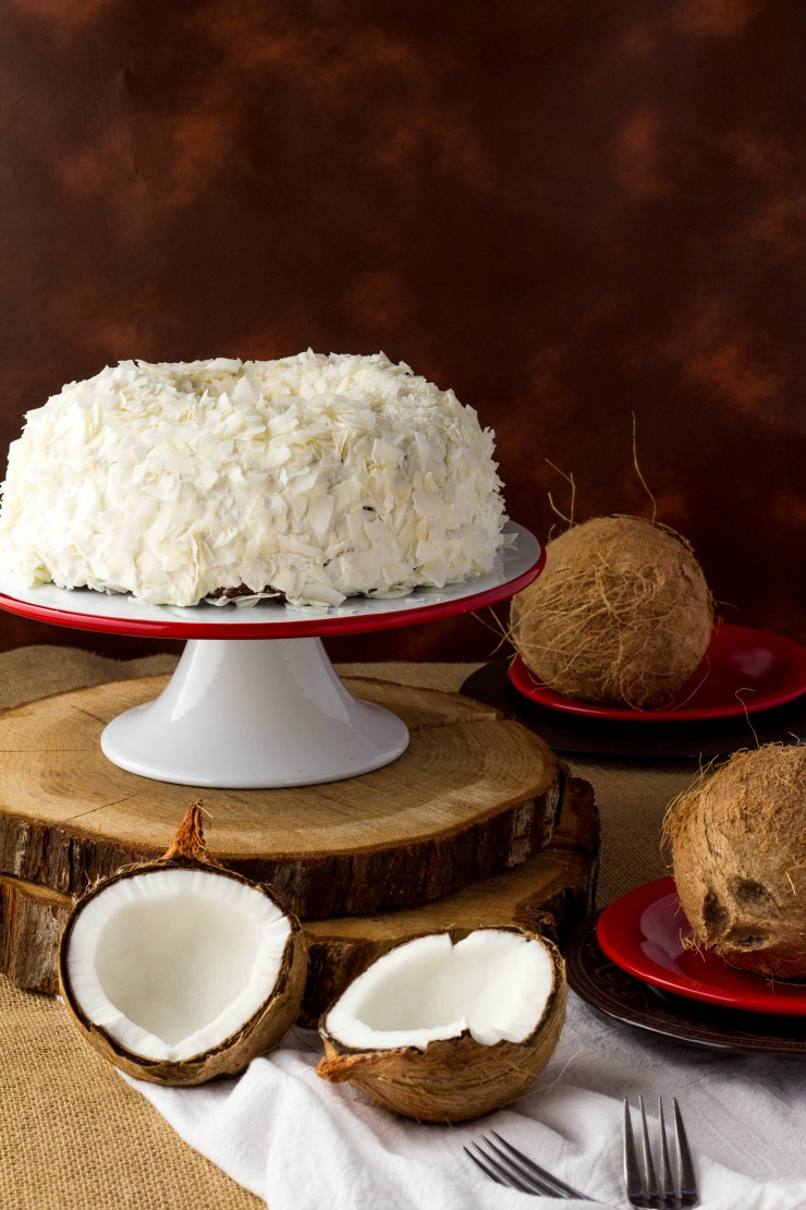 Easy Coconut Cake Recipe | The Bearfoot Baker