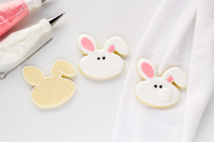 How to Make Bunny Cookies with a Video | The Bearfoot Baker