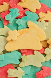 How to Make Colored Cookie Dough Cookies for Easter | The Bearfoot Baker