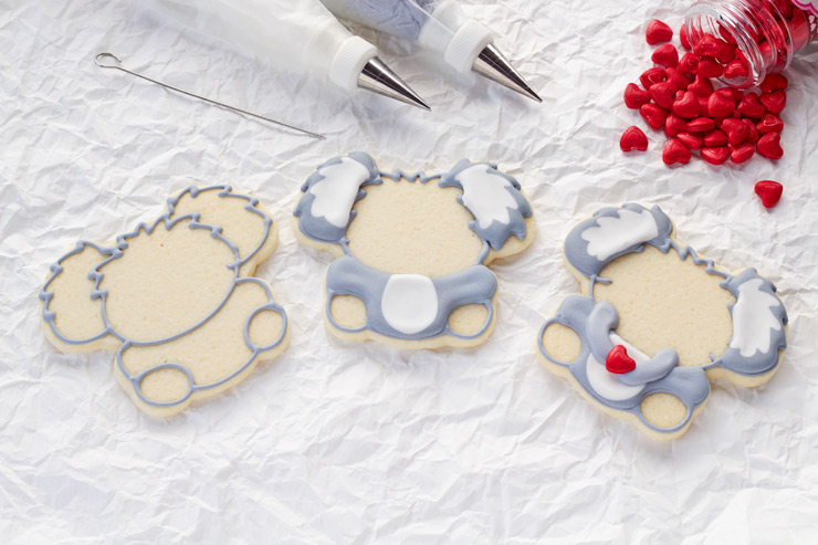 How to Make Decorated Koala Cookies | The Bearfoot Baker