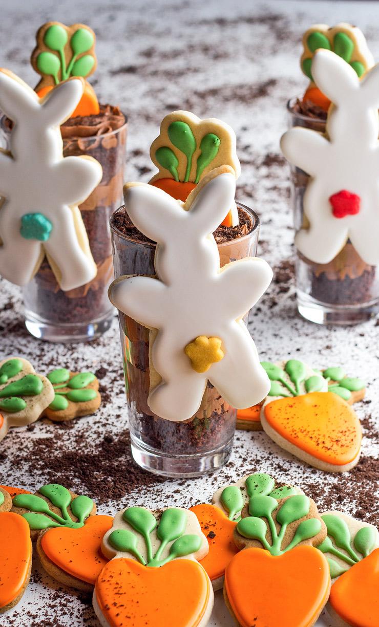 How to Make Hanging Mug Bunny Cookies with Video | The Bearfoot Baker