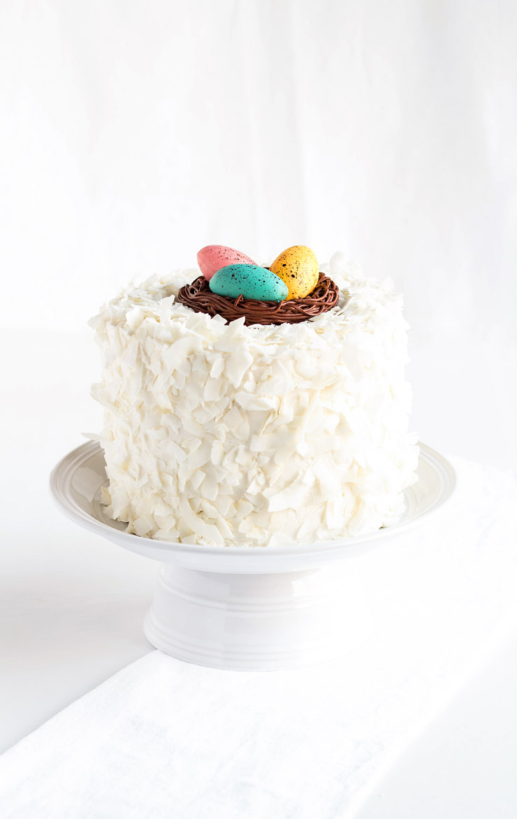Simple Coconut Buttercream Frosting Recipe | The Bearfoot Baker
