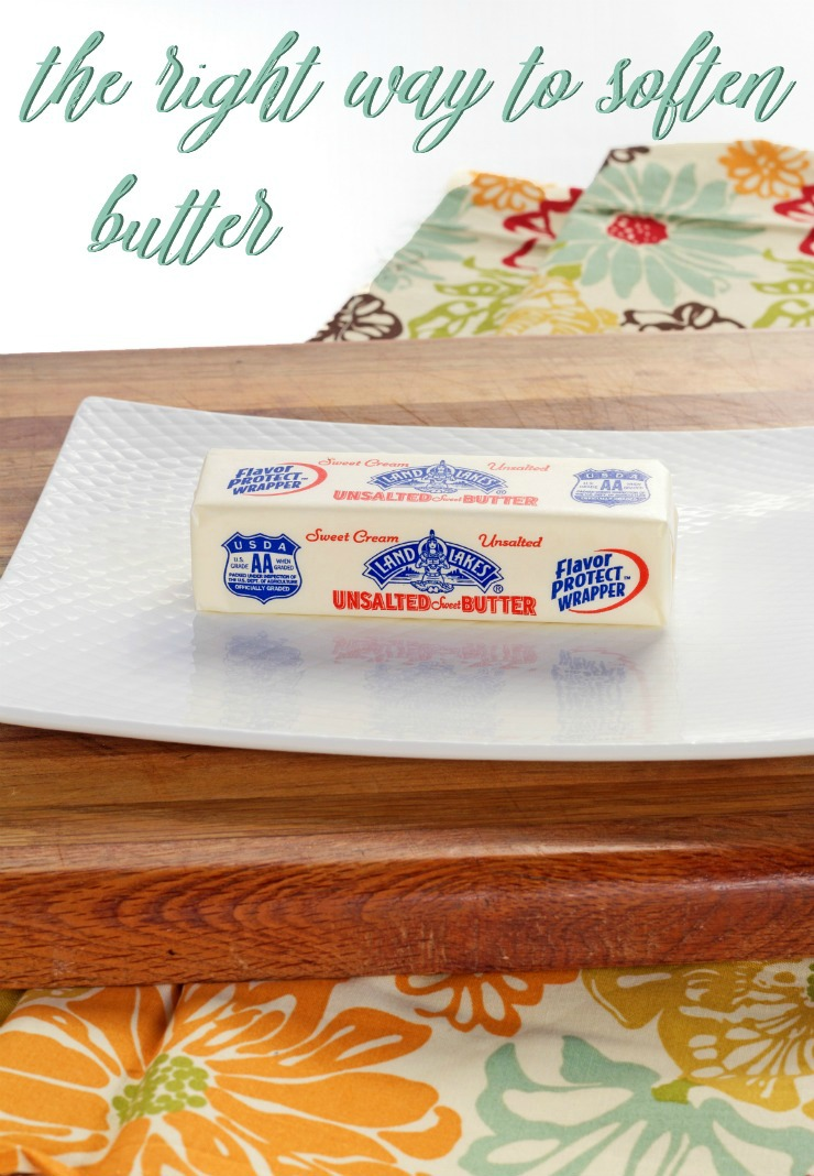 The Right Way to Soften Butter The Bearfoot Baker