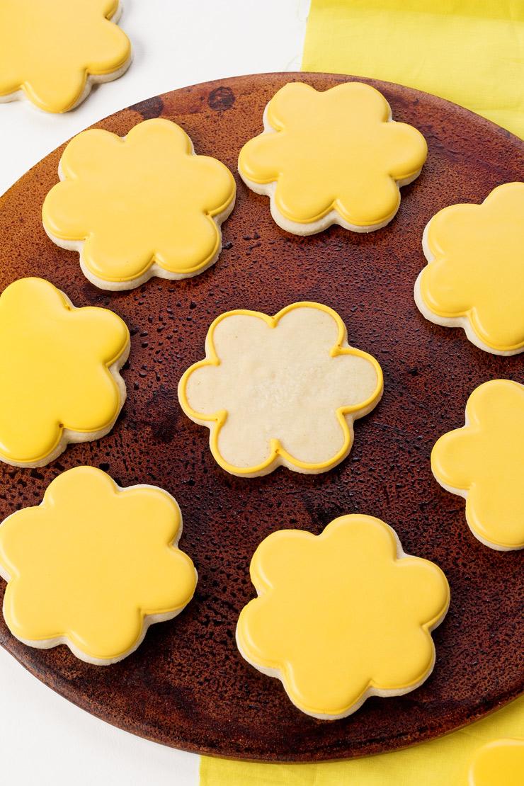 Blue Bird and Flower Cookies   The Beafoot Baker