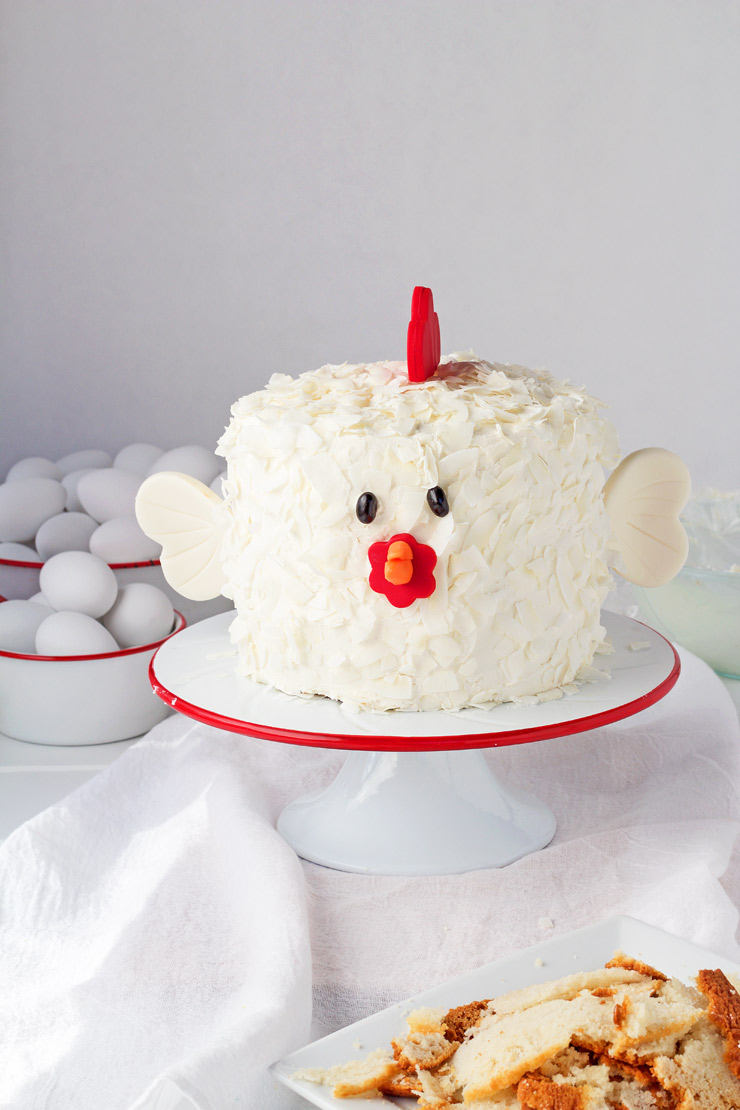Chicken Little Cake Ideas