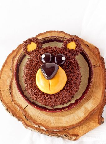 How to Make a Simple Bear Cake with a How To Video | The Bearfoot Baker