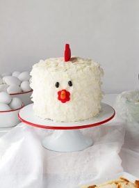 How to Make an Adorable Chicken Cake with Video | The Bearfoot Baker
