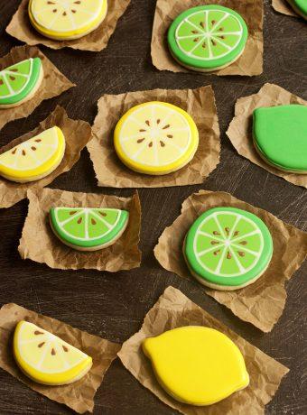 How to Make Simple Lemon Cookies | THe Bearfoot Baker