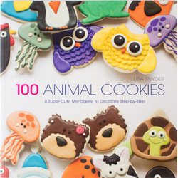100 Animal Cookies Book
