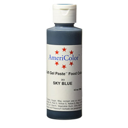 Americolor Sky Blue Soft Gel Paste Food Color