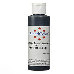 Americolor Soft Gel Paste 4.5 oz. - Electric Green