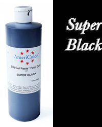 Americolor Soft Gel Paste Food Color-Super Black