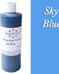 Americolor Soft Gel Paste Food Gel-Sky Blue 13.5 ounces