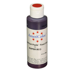 Americolor Super Red Soft Gel Paste Food Color