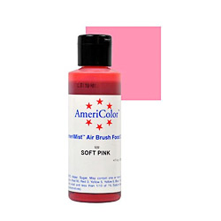 Amerimist Soft Pink Airbrush Color, 4.5 ounces