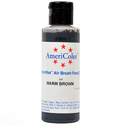 Amerimist Warm Brown Airbrush Color 4.5 oz