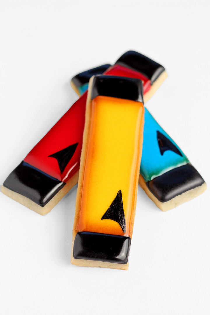 Star Trek Cookies | The Bearfoot Baker