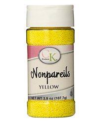 Yellow CK Non Pareils 4 Ounce