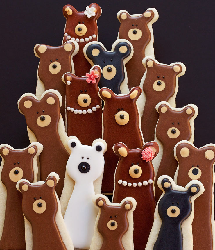How to Make Fun and Simple Bear Cookies | The Bearfoot Baker