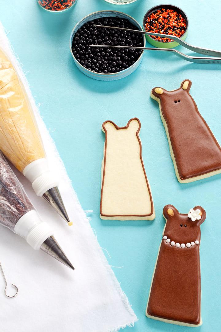 How to Make Simple Bear Cookies | The Bearfoot Baker