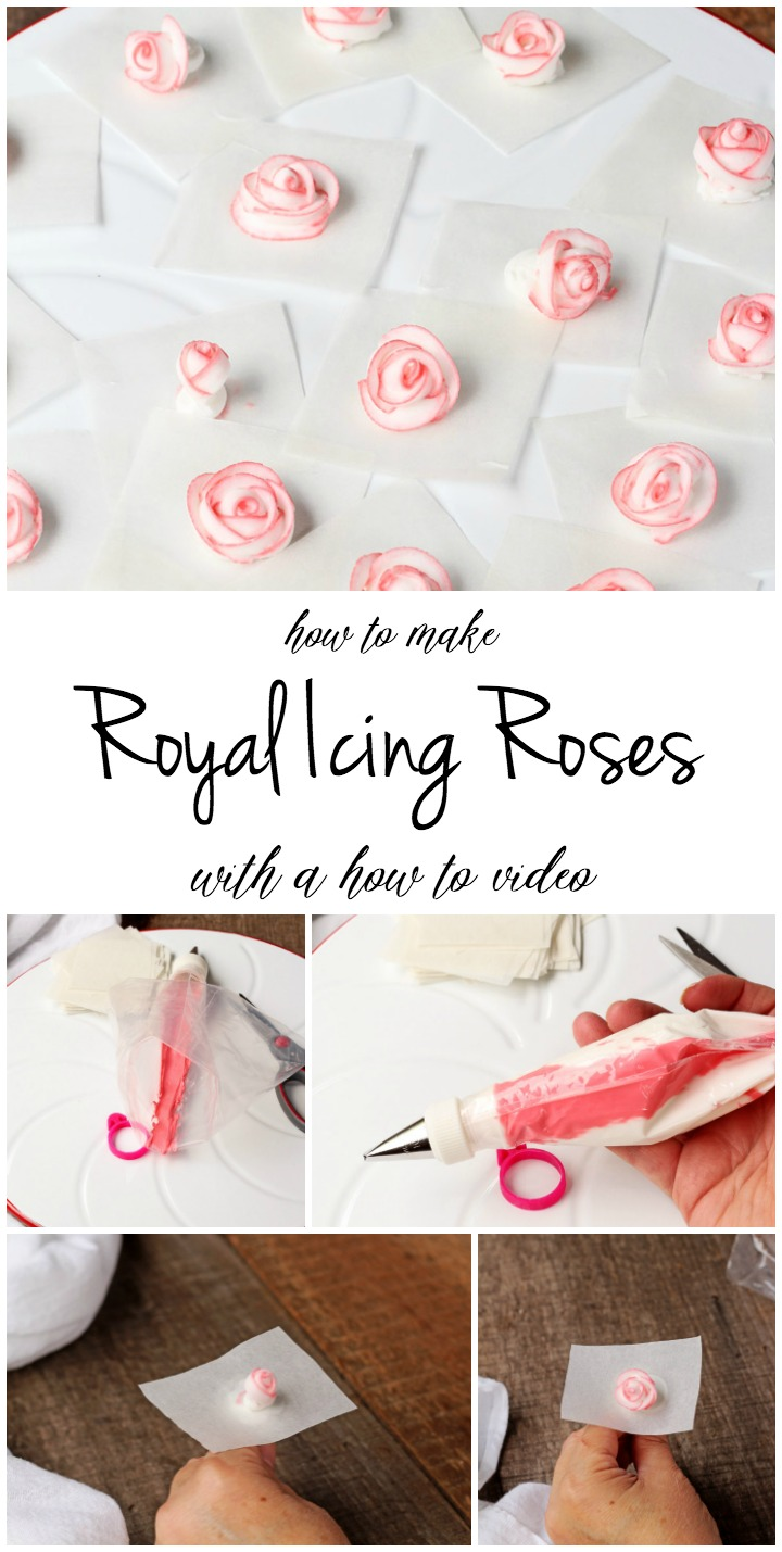 Royal Icing Roses - Tutorial with a how to Video | The ...