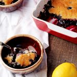 How to Make a Good Old Fashioned Blueberry Cobbler | The Bearfoot Baker