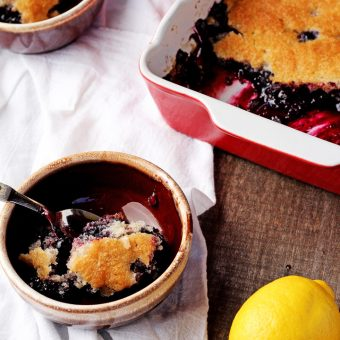 How to Make a Good Old Fashioned Blueberry Cobbler   The Bearfoot Baker