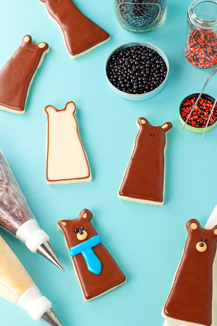 Simple Bear Cookies | The Bearfoot Baker