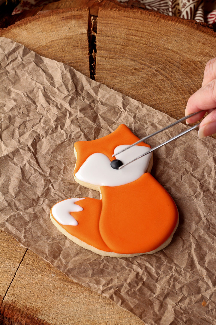 How to Make Cute Little Fox Cookies with Video   The Bearfoot Baker