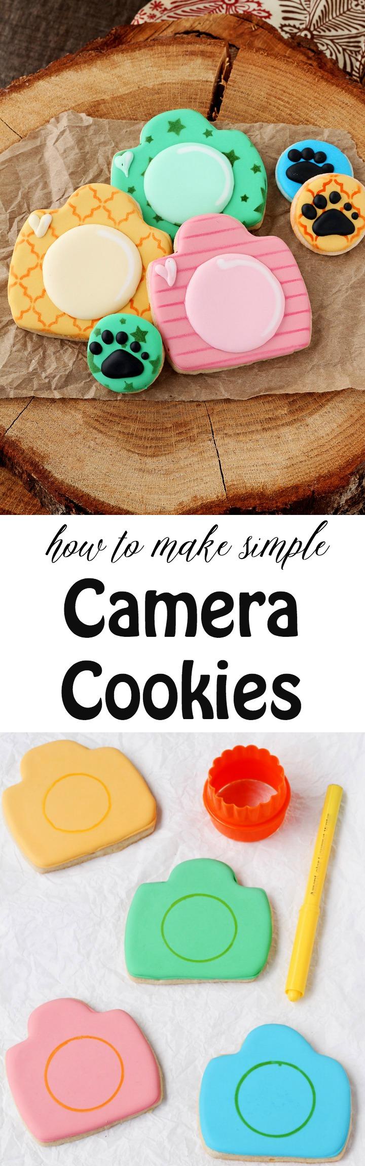 How to Make Cute Retro Camera Cookies   The Bearfoot Baker