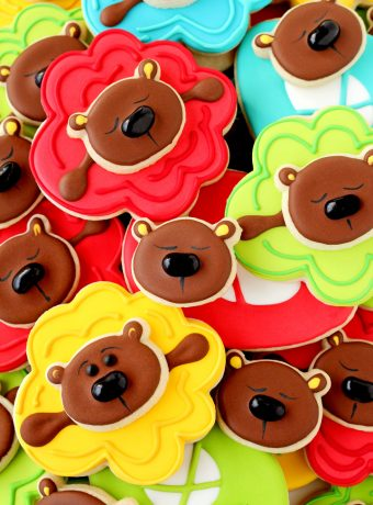 How to Make Fun Ballerina Bear Cookies with a How to Video | The Bearfoot Baker