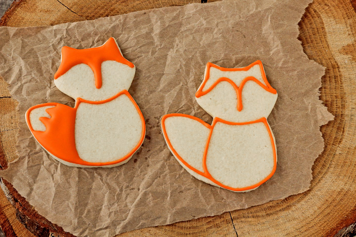 How to Make Fun Fox Cookies with Video   The Bearfoot Baker