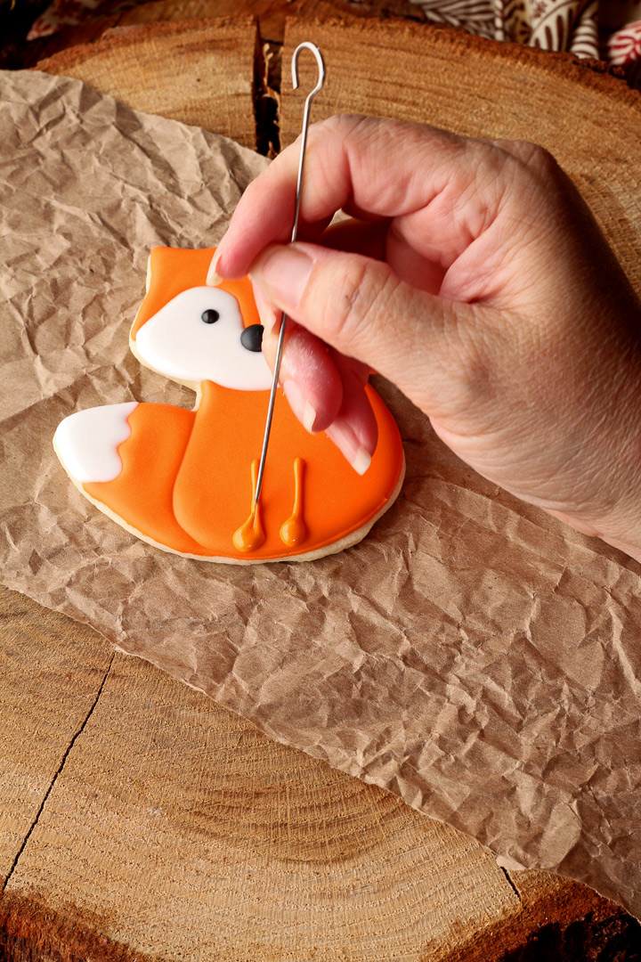 How To Make Fun Little Fox Cookies With Video The Bearfoot Baker