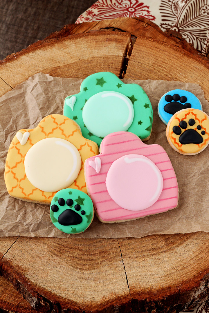 How to Make These Fun Little Camera Cookies   The Bearfoot Baker