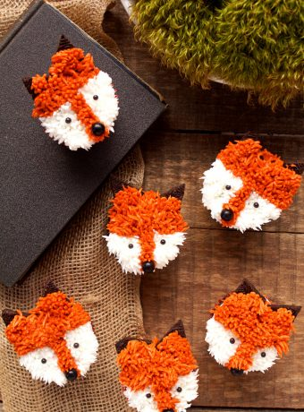 Simple Fox Cupcakes with a How to Video | The Bearfoot Baker