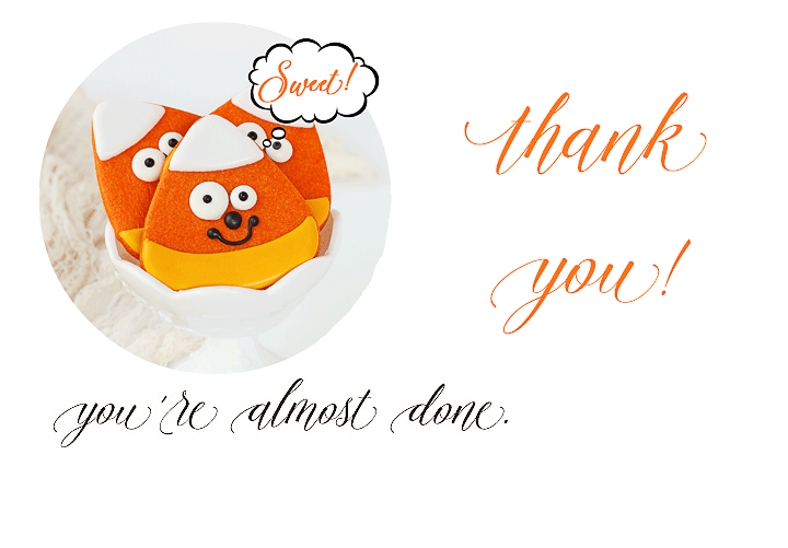 Thank You for Getting the FREE 10 Kid-friendly Halloween Cookies EBook | The Bearfoot Baker