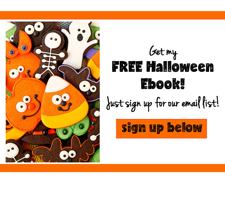 Get Your FREE Halloween Ebook Here | The Bearfoot Baker