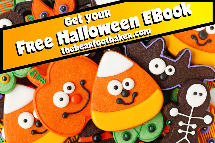 Get Your Free Halloween Ebook with 10 Kid-friendly Halloween Cookie Designs | The Bearfoot Baker