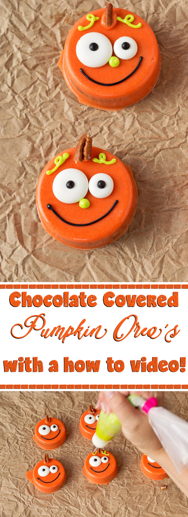 How to Make Chocolate Covered Pumpkin Oreo's with Video | The ...