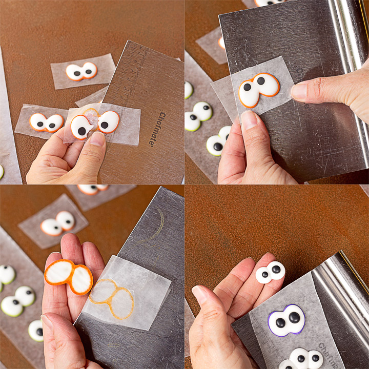 How to Make Spooky Candy Eyes with a How to Video   The Bearfoot Baker