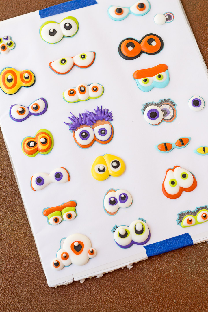 How to Make Spooky Candy Eyes with a Step by Step Video   The Bearfoot Baker